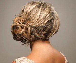 Очень популярна у современных невест коса