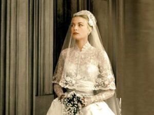 Свадебное платье Грейс Келли получила в подарок