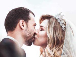 Романтический поцелуй