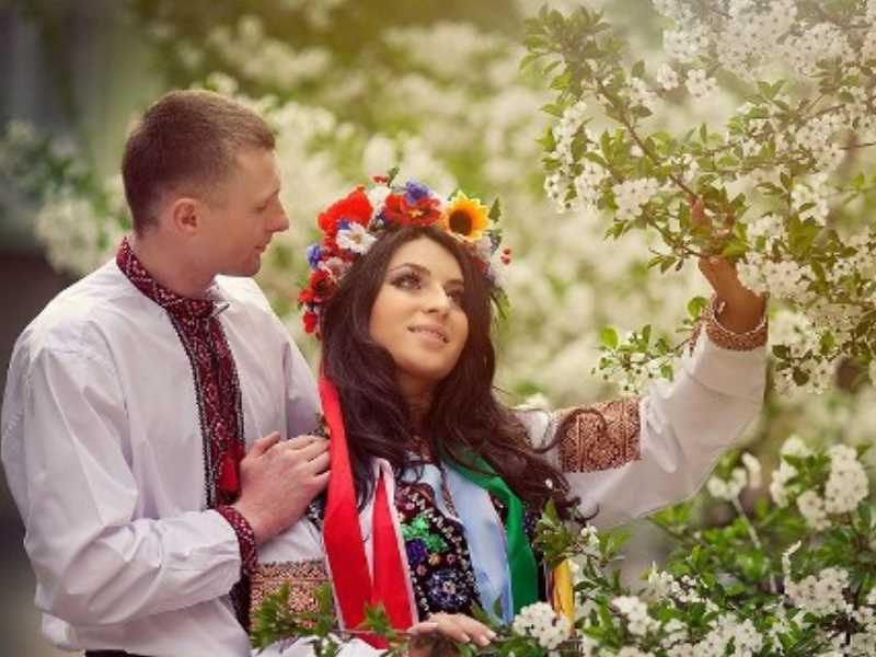 - Венчание в церкви.